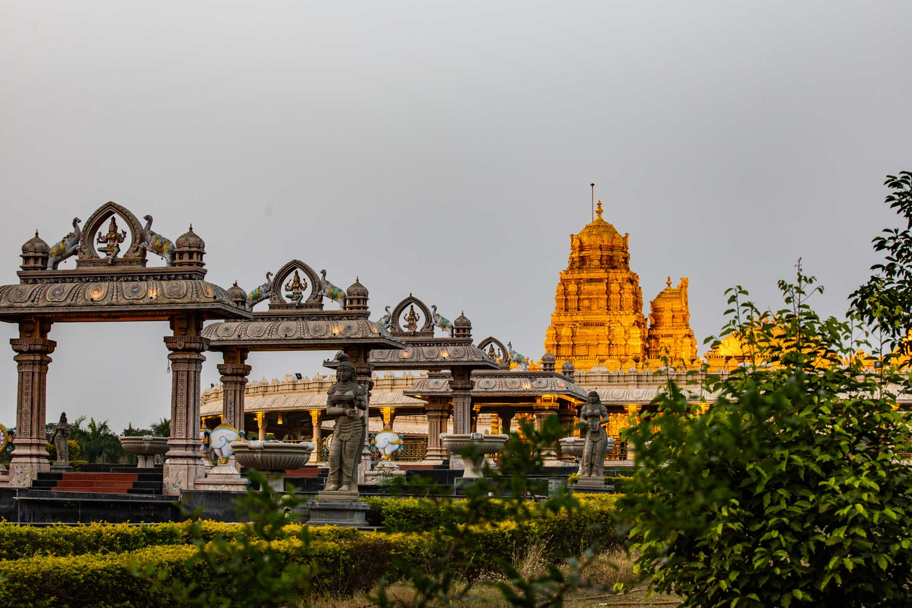 temple-during-sunset